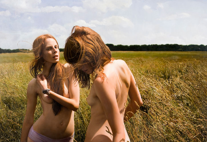 Update: The Photoreal Works of Yigal Ozeri: Juxtapoz-YigalOzeri02.jpg