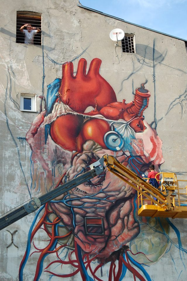 Anatomical Heart Mural by Lump: lump_4_20121011_1881371249.jpeg