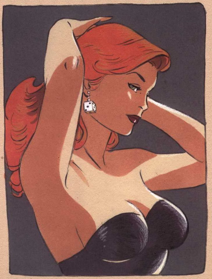 The Pin-Ups of Philippe Berthet: philippe-berthet_14_20121009_1369841807.jpeg
