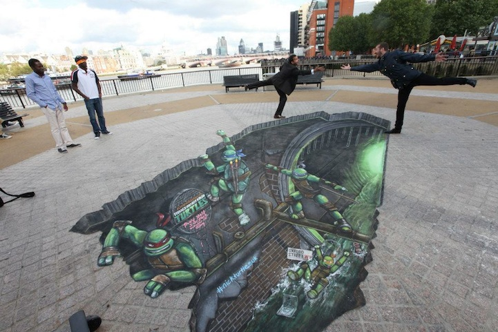 Teenage Mutant Ninja Turtles 3D Street Painting by Joe & Max: joe_max_tmnt_12_20121014_1170207420.jpeg