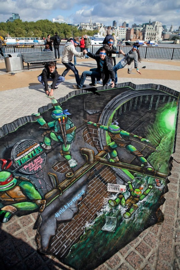 Teenage Mutant Ninja Turtles 3D Street Painting by Joe & Max: joe_max_tmnt_13_20121014_1174177572.jpeg