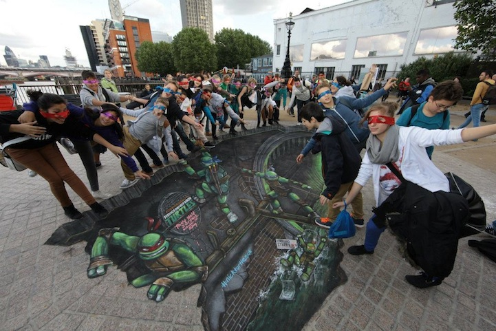 Teenage Mutant Ninja Turtles 3D Street Painting by Joe & Max: joe_max_tmnt_15_20121014_1260173502.jpeg