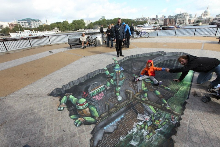 Teenage Mutant Ninja Turtles 3D Street Painting by Joe & Max: joe_max_tmnt_18_20121014_1142470754.jpeg