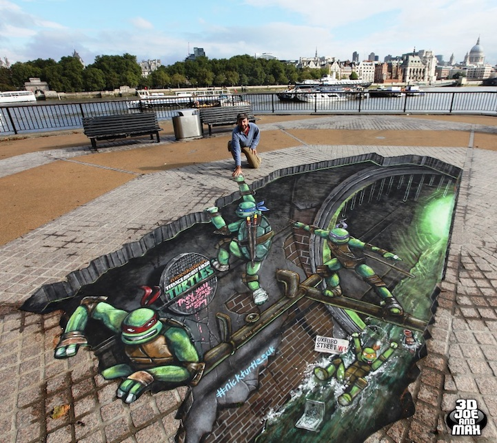 Teenage Mutant Ninja Turtles 3D Street Painting by Joe & Max: joe_max_tmnt_4_20121014_2053314855.jpeg