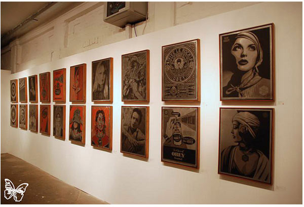 "Opening: Shepard Fairey ""Sound & Vision"" @ Stolenspace, London: shepard_fairey_28_20121021_1042246421.jpg"