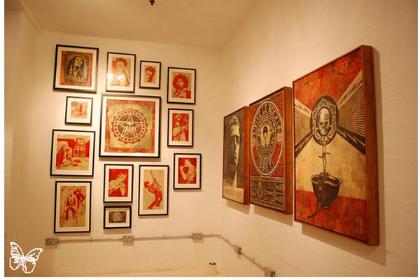 "Opening: Shepard Fairey ""Sound & Vision"" @ Stolenspace, London: shepard_fairey_35_20121021_1789902292.jpg"