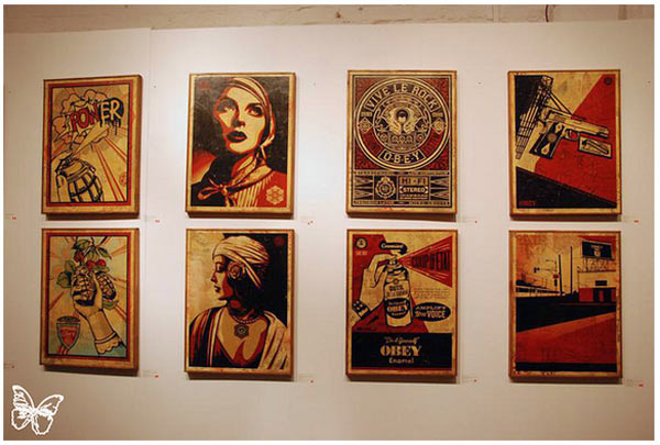 "Opening: Shepard Fairey ""Sound & Vision"" @ Stolenspace, London: shepard_fairey_64_20121021_1978619384.jpg"