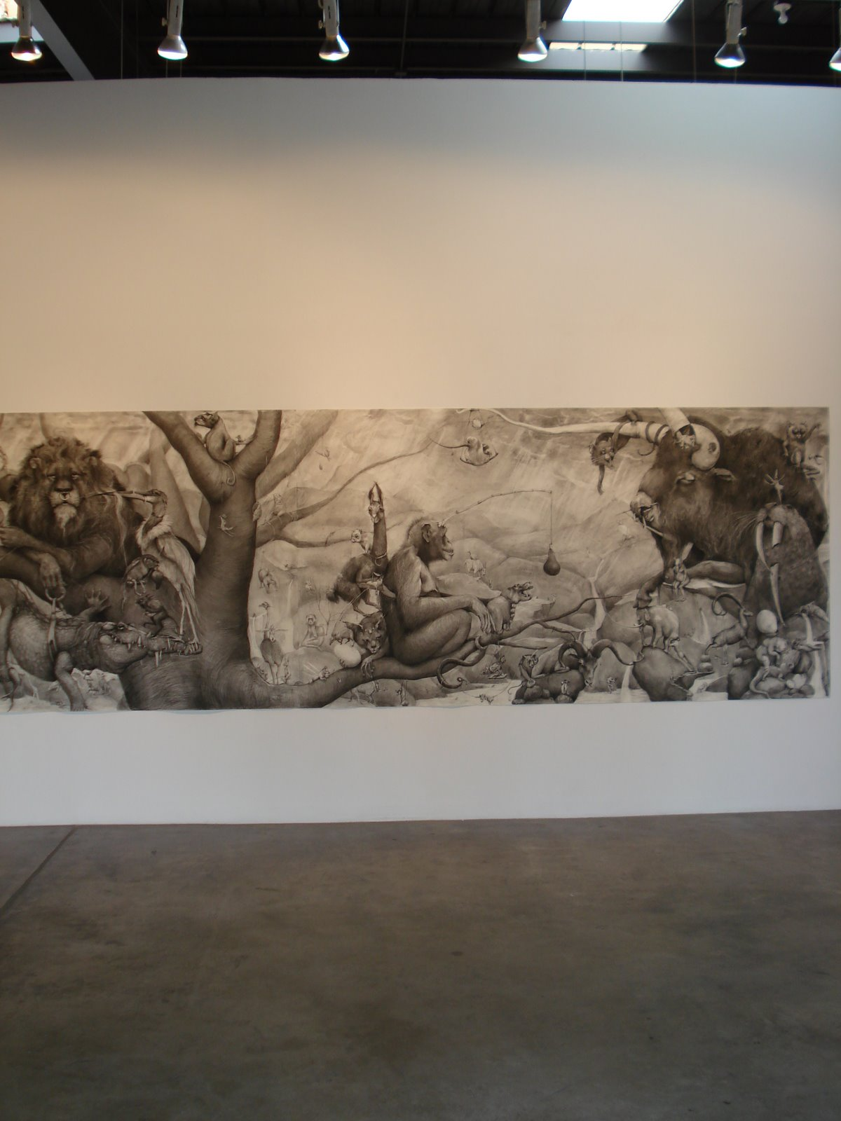 Amazing Pencil Works by Adonna Khare : A-Mural-21.jpg