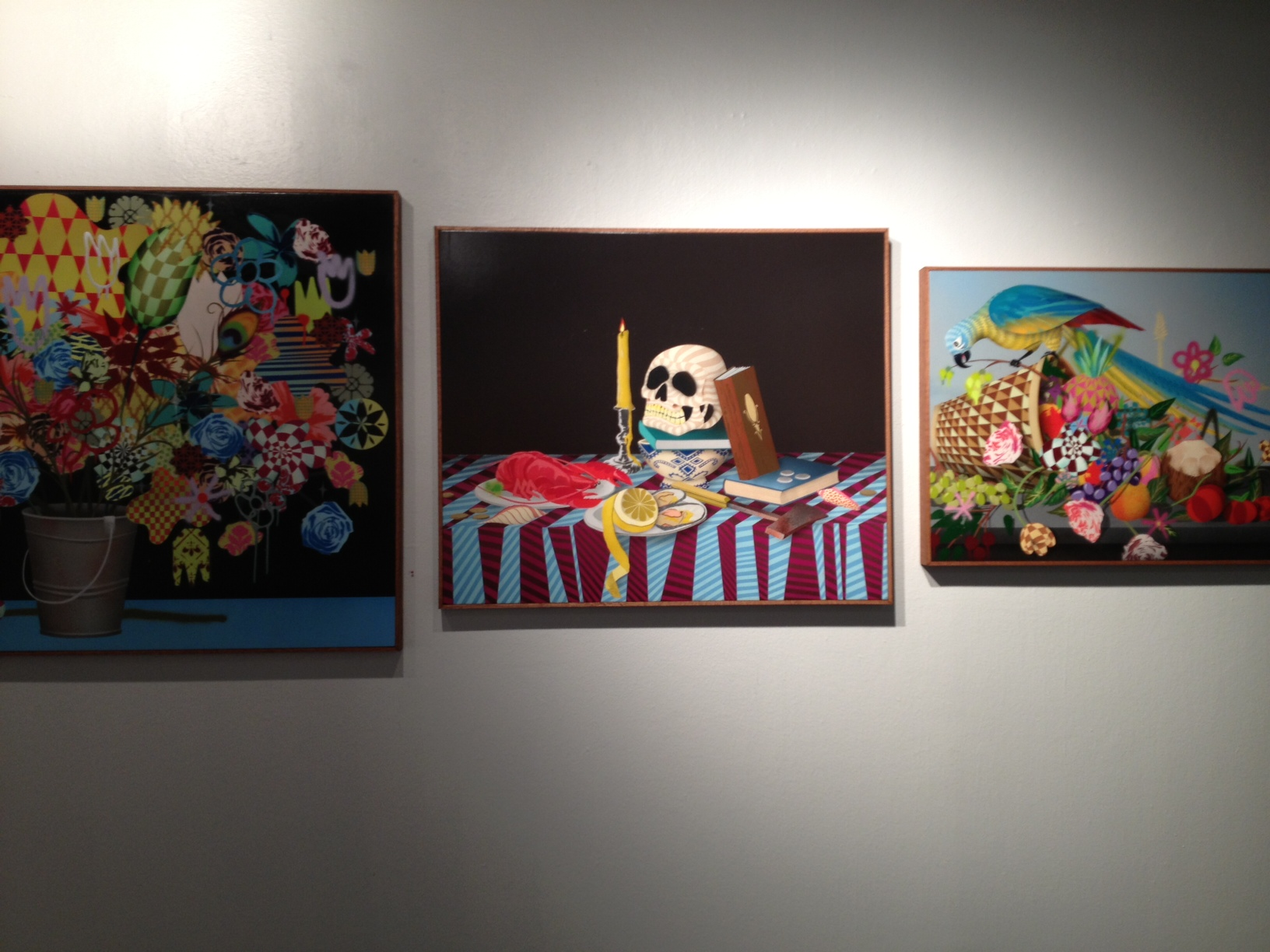 "Review: Casey Gray's ""Garden Party"" @ White Walls Gallery, SF: casey_gray_2_13_20121030_1787219362.jpeg"