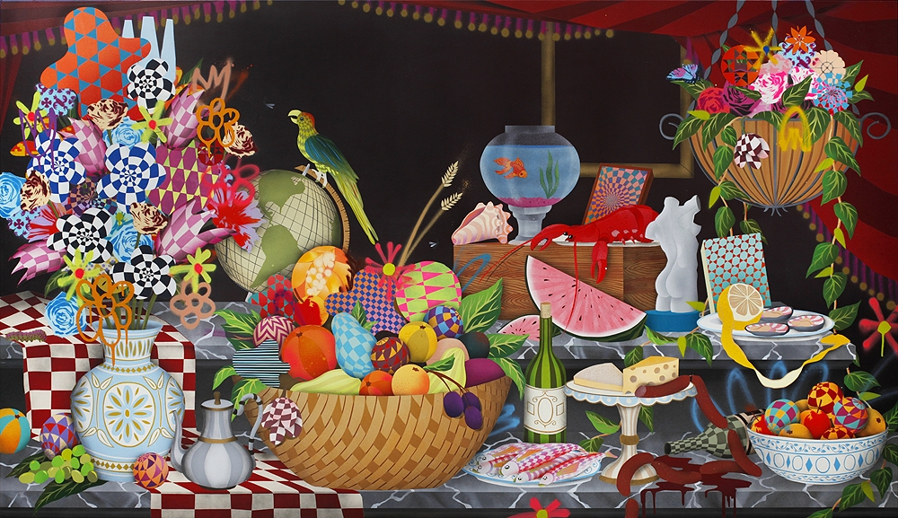 "Review: Casey Gray's ""Garden Party"" @ White Walls Gallery, SF: casey_gray_2_1_20121030_1408852093.jpeg"