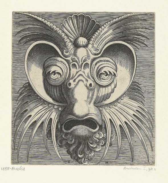 Grotesque Mask Heads, circa 1555: frans_huys_14_20121031_1379788837.jpeg