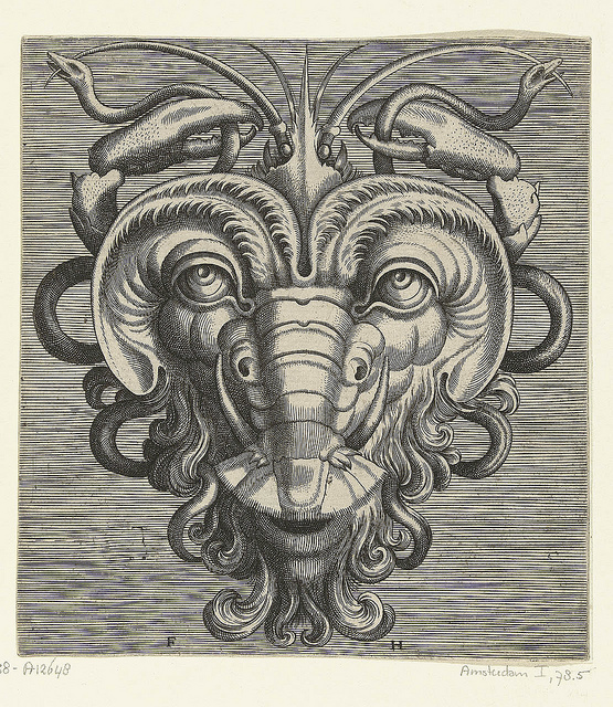 Grotesque Mask Heads, circa 1555: frans_huys_21_20121031_1802588173.jpeg