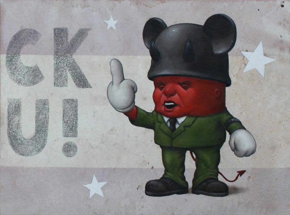 "Preview: Bob Dob ""Mouseketeer Army"" @ La Luz de Jesus, Los Angeles: bob_dob_10_20121101_1372679176.jpg"