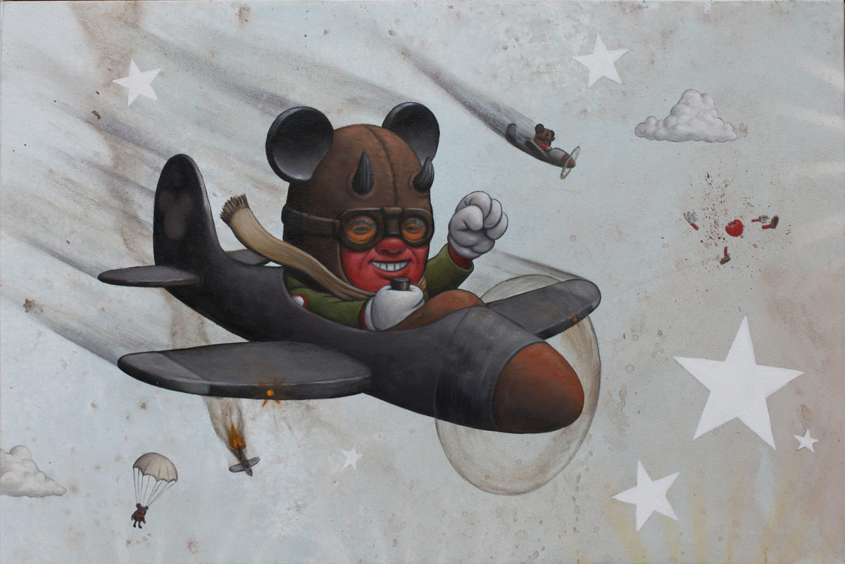 "Preview: Bob Dob ""Mouseketeer Army"" @ La Luz de Jesus, Los Angeles: bob_dob_15_20121101_1151628810.jpg"