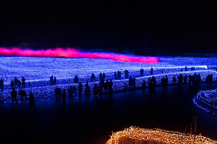 Winter Illuminations: Light Festival in Japan: nabana_no_sato_21_20121104_1841084355.jpeg