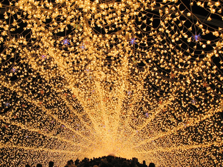 Winter Illuminations: Light Festival in Japan: nabana_no_sato_23_20121104_1976539632.jpeg