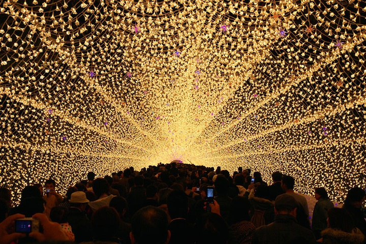 Winter Illuminations: Light Festival in Japan: nabana_no_sato_27_20121104_1345678481.jpeg