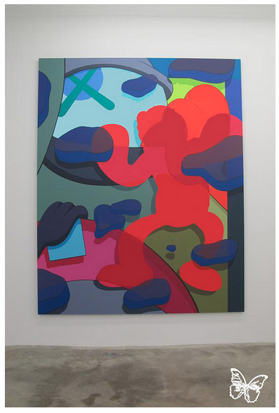 "Opening: KAWS ""Imaginary Friends"" @ Galerie Perrotin, Paris: kaws_-_imaginary_friends_9_20121104_1396789663.png"