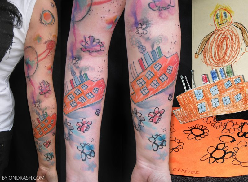 Painterly Tattoos by Ondrash: ondrash_16_20121106_1241193695.jpg
