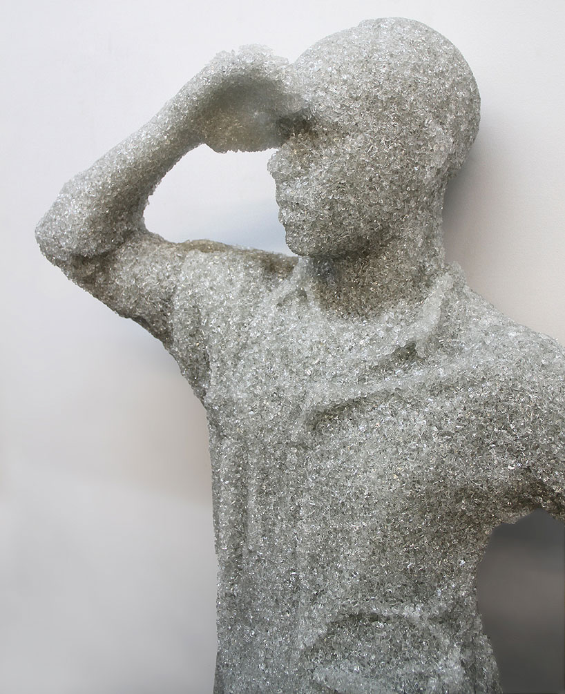 Shattered Glass Sculptures by Daniel Arsham : daniel_arsham_3_20121106_2048233647.jpeg