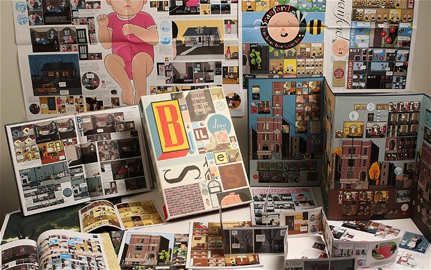 "Chris Ware's ""Building Stories"" Graphic Novel: chris_ware_building_stories_8_20121129_1147841886.jpg"