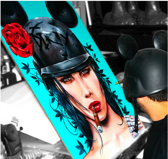 "Brian Viveros ""War of the Roses"" @ SCOPE Miami w/Thinkspace Gallery: viveros_war_of_the_roses_10_20121202_1019712216.png"