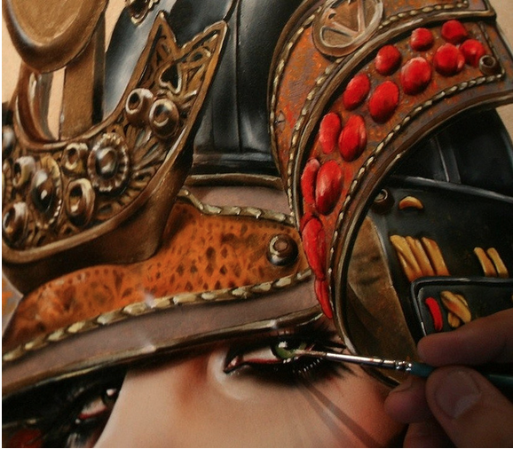 "Brian Viveros ""War of the Roses"" @ SCOPE Miami w/Thinkspace Gallery: viveros_war_of_the_roses_12_20121202_1827889476.png"