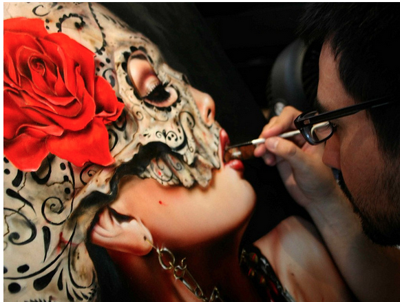 "Brian Viveros ""War of the Roses"" @ SCOPE Miami w/Thinkspace Gallery: viveros_war_of_the_roses_13_20121202_1635315073.png"