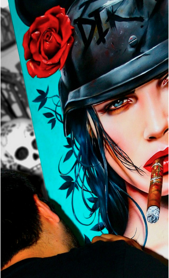 "Brian Viveros ""War of the Roses"" @ SCOPE Miami w/Thinkspace Gallery: viveros_war_of_the_roses_15_20121202_1567379503.png"
