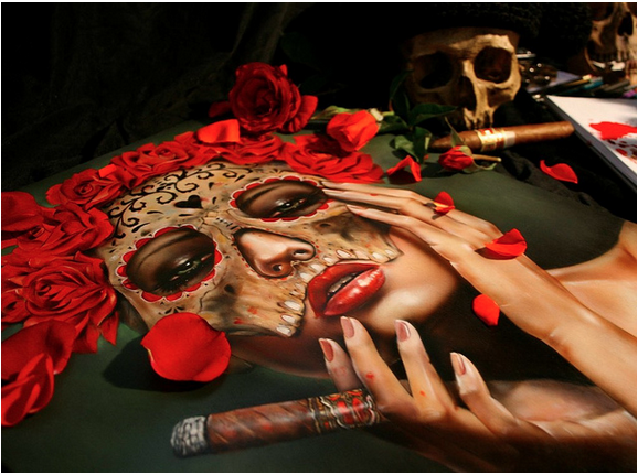 "Brian Viveros ""War of the Roses"" @ SCOPE Miami w/Thinkspace Gallery: viveros_war_of_the_roses_20_20121202_1079427785.png"