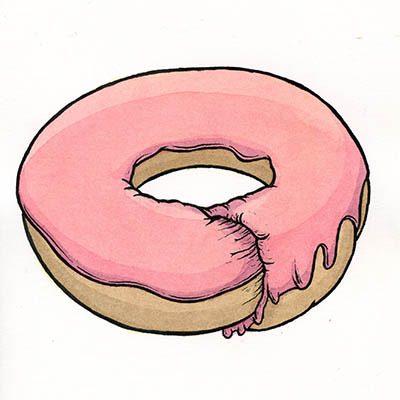 Drawing Experiment V: Donut Heaven : donuts_17_20121209_1936773659.jpeg