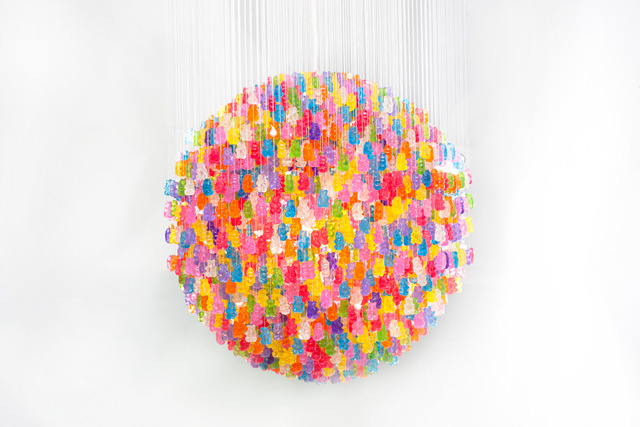 Gummy Bear Chandelier by Kevin Champeny: gummy_bears_1_20121209_1398981707.jpeg