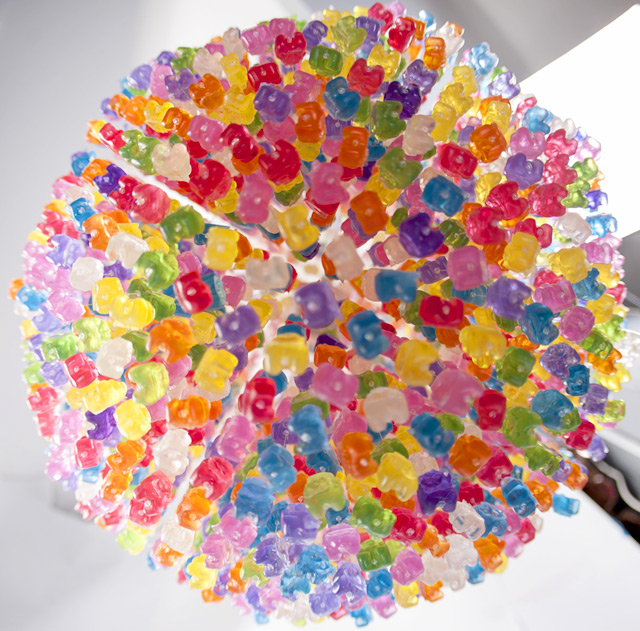 Gummy Bear Chandelier by Kevin Champeny: gummy_bears_5_20121209_1196511187.jpeg