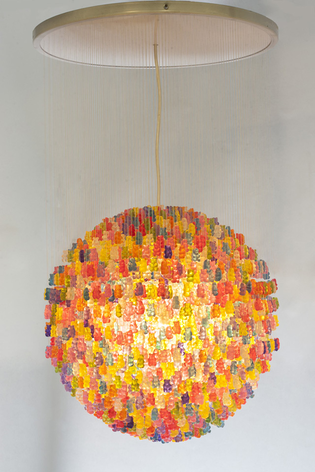 Gummy Bear Chandelier by Kevin Champeny: gummy_bears_9_20121209_1802285913.jpeg