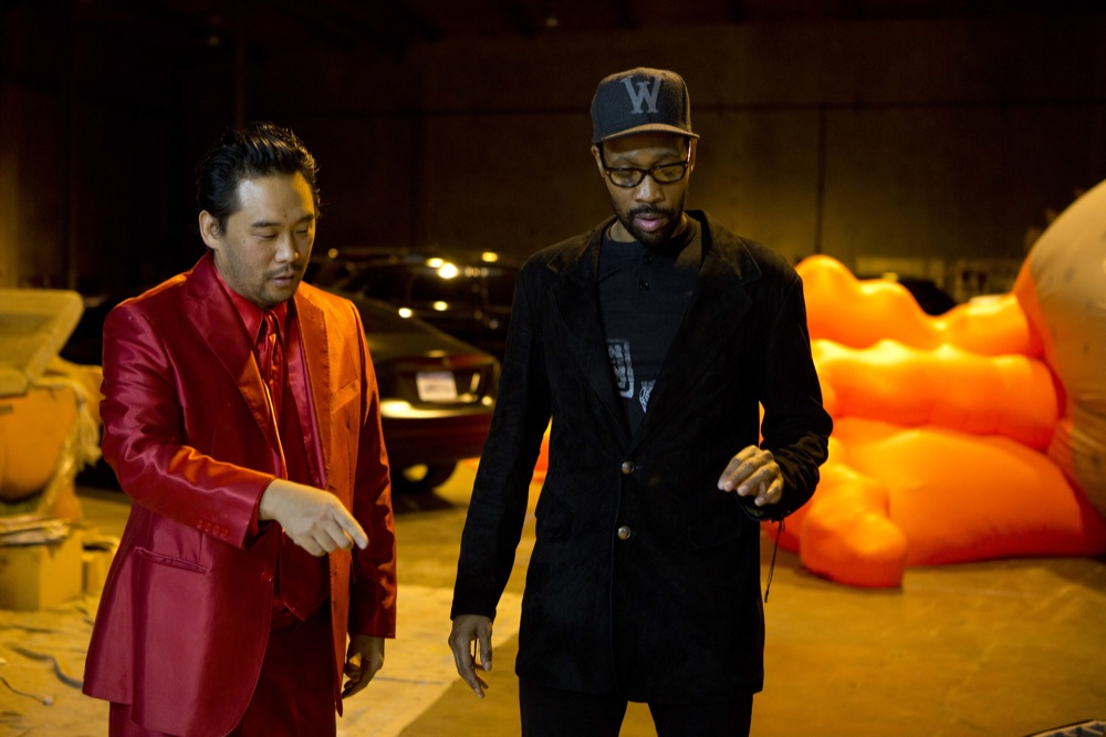 David Choe x RZA & Sandy Benefit Show @ Scion AV, LA: david_choe_rza_11_20121214_2078450431.jpg