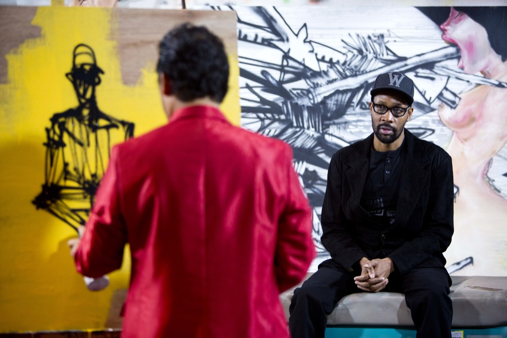 David Choe x RZA & Sandy Benefit Show @ Scion AV, LA: david_choe_rza_1_20121214_1802914808.jpg