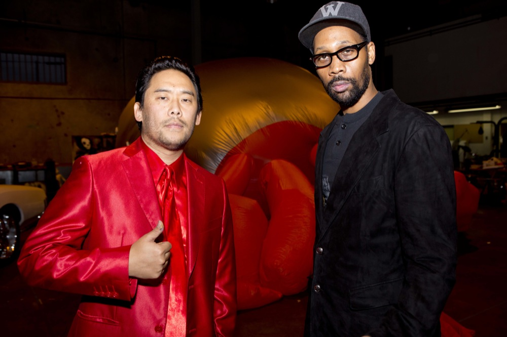 David Choe x RZA & Sandy Benefit Show @ Scion AV, LA: david_choe_rza_20_20121214_1321622193.jpg