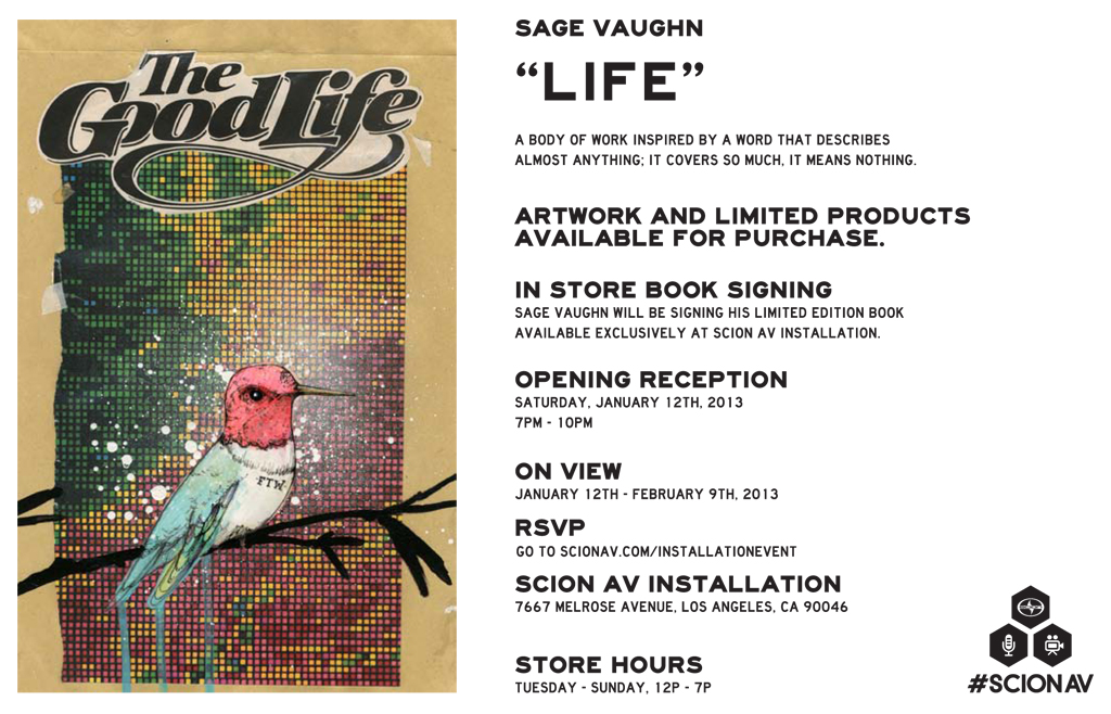 "Preview: Sage Vaughn ""Life"" @ Scion AV Installation, LA: sage_vaughn_life_2_20130111_2079893462.jpg"