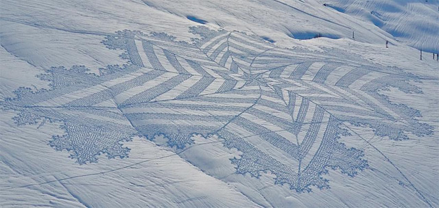 Geometric Snow by Simon Beck: snow_illustrations_6_20130112_1978819312.jpeg