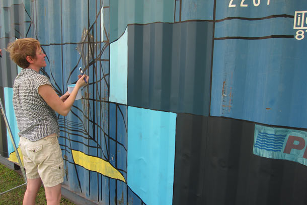 Mary Iverson Paints Container in Singapore: mary_iverson_container_singapore_20_20130122_1284196295.jpg
