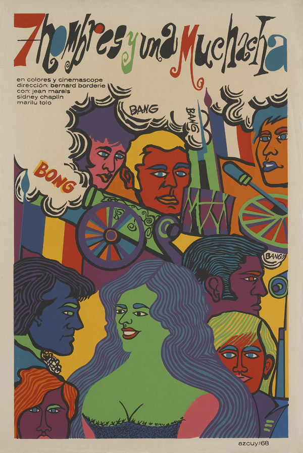 1960s & 70's Cuban Movie Posters: 3458206303_4b8c8fe589_o.jpg