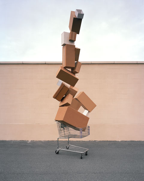 The Photography and Assemblages of David Welch: 15_welchdavidshoppingtotem2.jpg