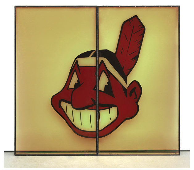 Cyprien Gaillard and the Neon Cleveland Indian: cyprien_gaillard_neon_indian_12_20130128_1898573379.png