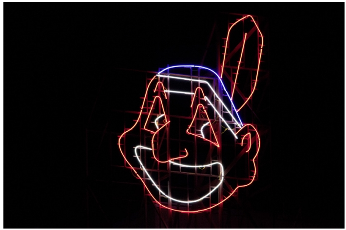 Cyprien Gaillard and the Neon Cleveland Indian: cyprien_gaillard_neon_indian_7_20130128_1166134082.png