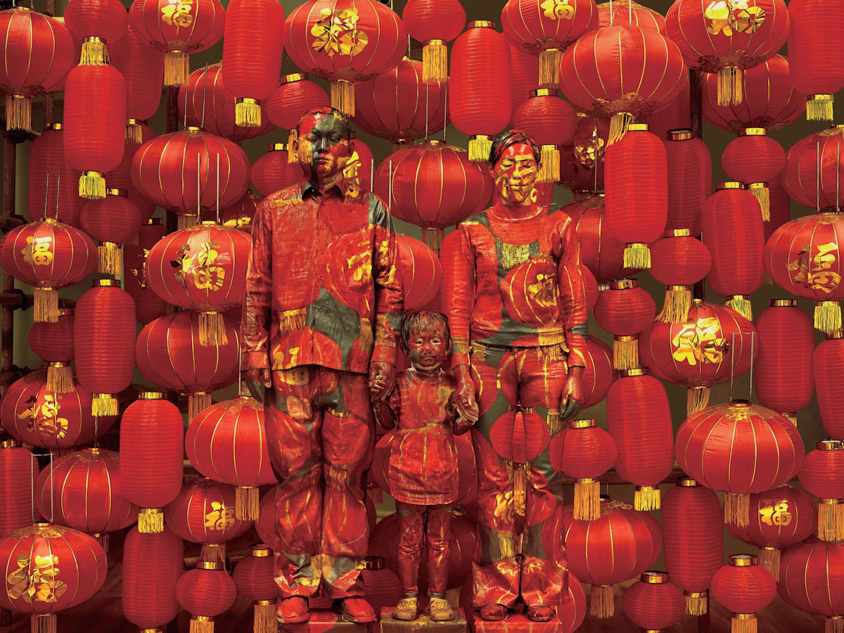 """Hiding in the City,"" New Photographs by Liu Bolin: liu_bolin_18_20130215_1809819022.jpg"
