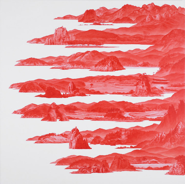 """Between Red,"" Paintings by Sea Huyn Lee: sea_huyn_lee_14_20130217_1216817292.jpg"
