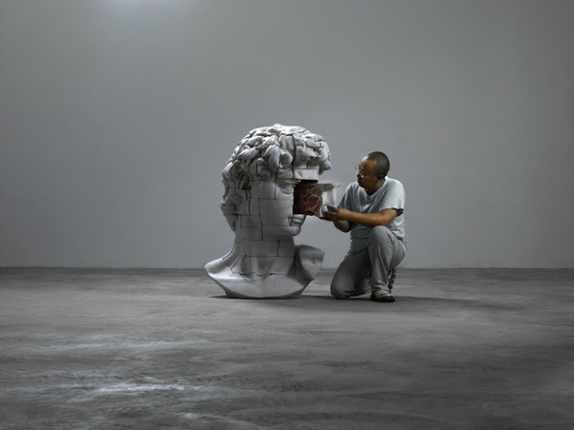 Dissected Classical Sculpture by Cao Hui: SCULPTURES BY CHEN 29.jpg