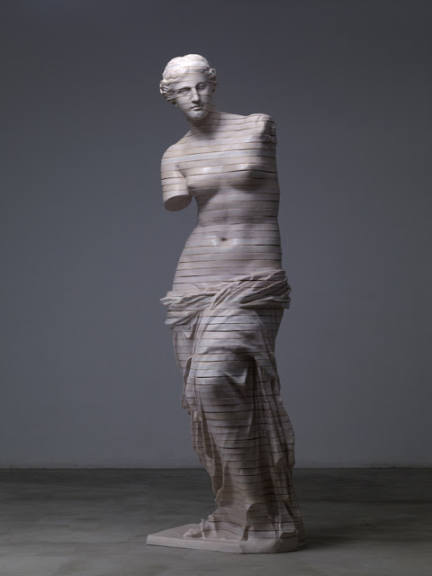 Dissected Classical Sculpture by Cao Hui: SCULPTURES BY CHEN 32.jpg