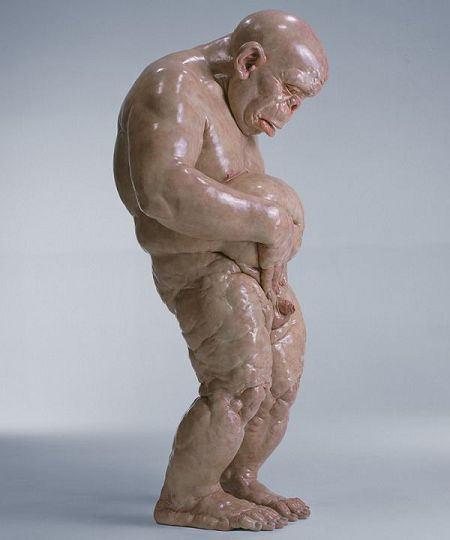 Dissected Classical Sculpture by Cao Hui: SCULPTURES BY CHEN2.jpg