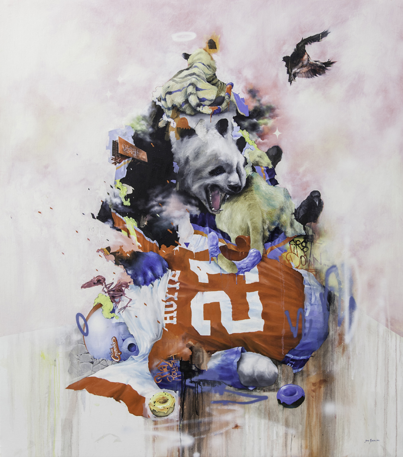 "Joram Roukes ""Les Bons Sauvages"" @ Stolenspace, London: First_Down_Joram_Roukes.jpg"